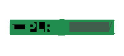 The PLR Show logo